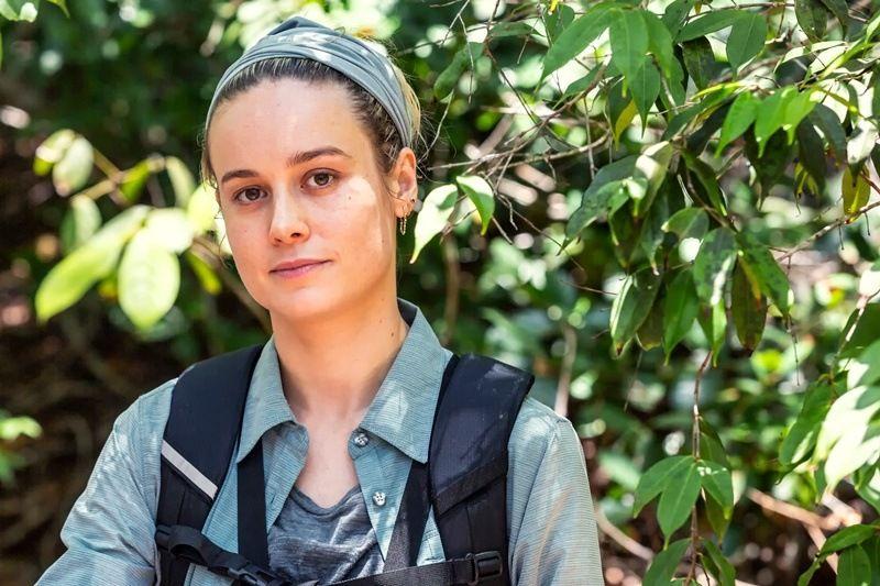 Brie Larson - Bear Grylls - Celebrity Edition