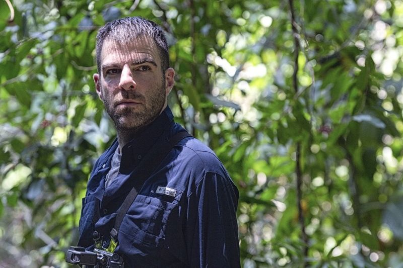 Zachary Quinto - Bear Grylls - Celebrity Edition