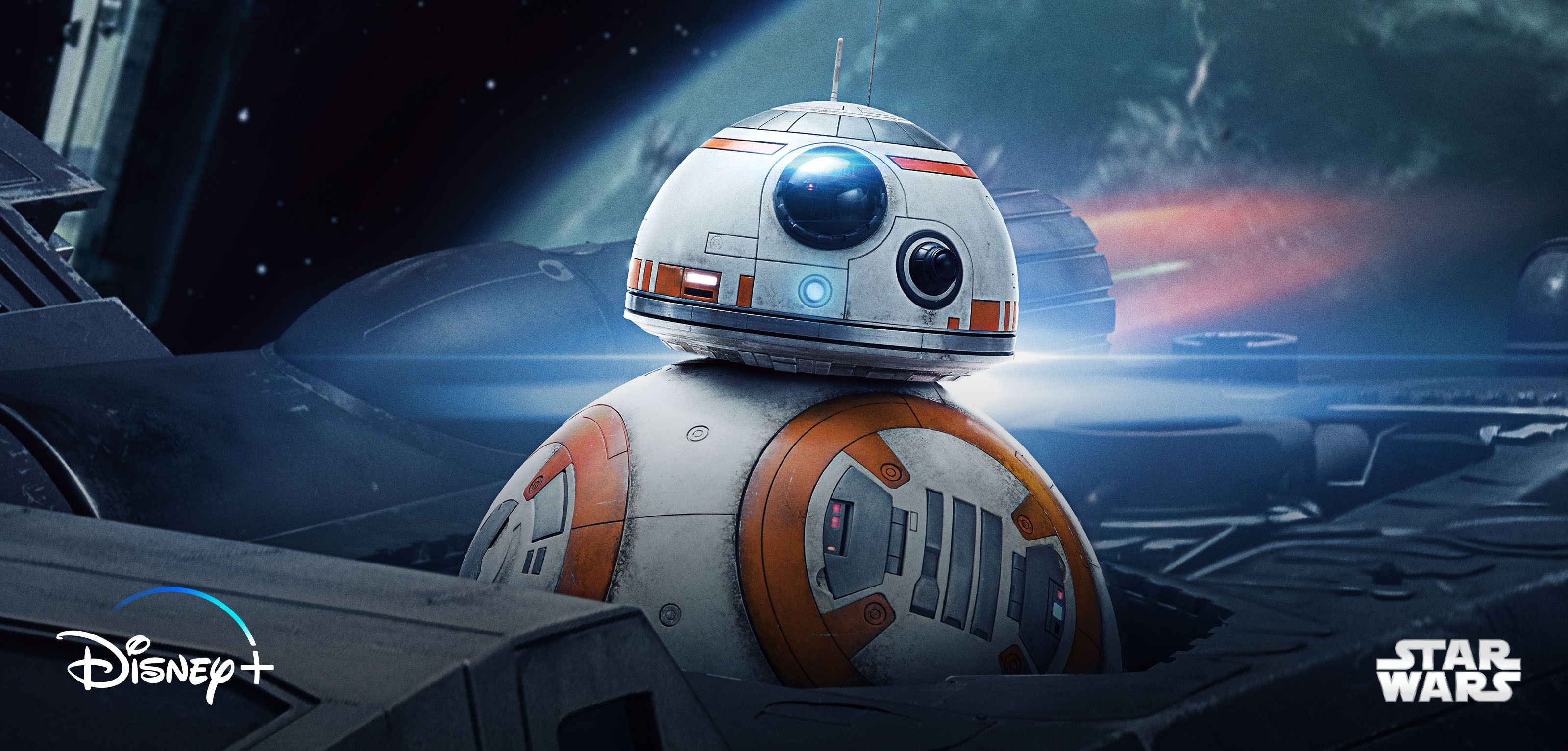 A still of BB-8 from Star Wars