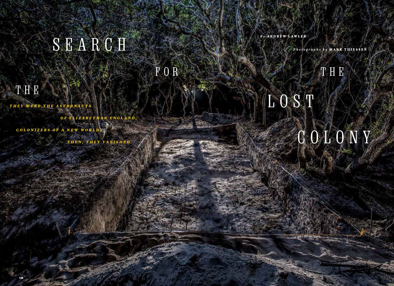 The Search for the Lost Colony